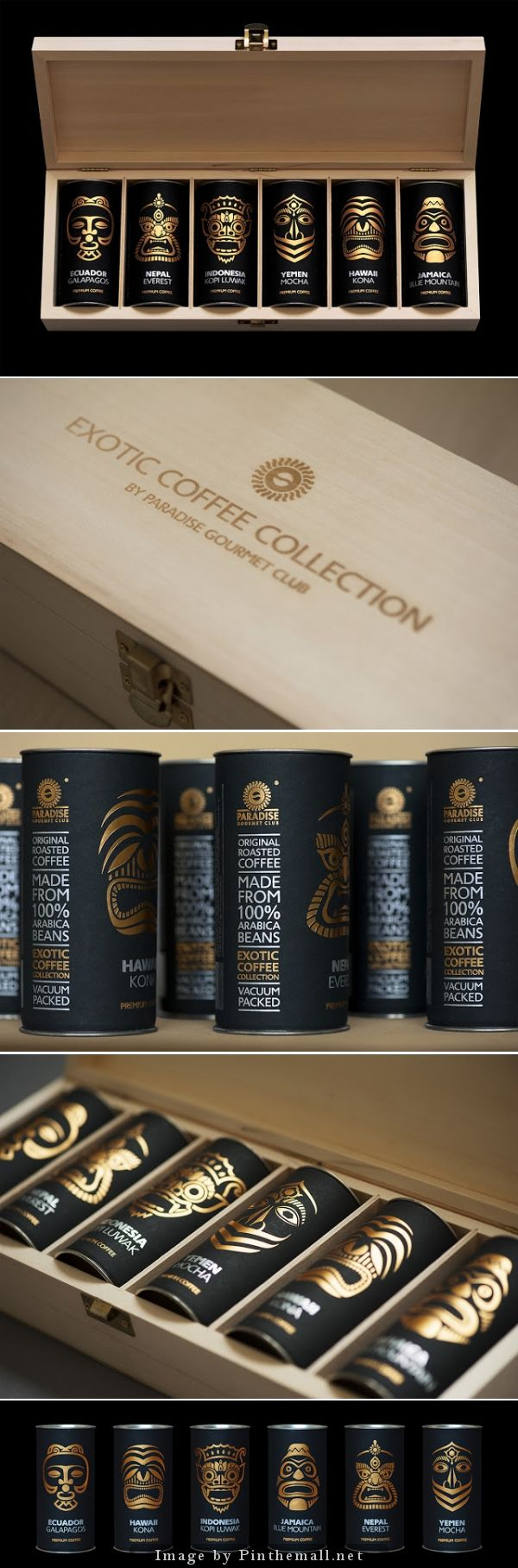 Exotic coffee collection by Paradise