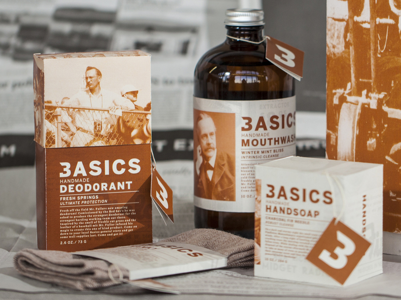 Basics Branding & Packaging Line by N V D R