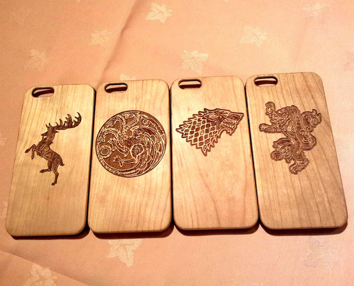 Game Of Thrones Wooden Phone Cases