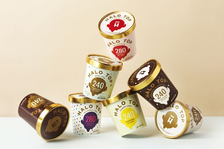 Halo Top Creamery package design by Peck & Co.