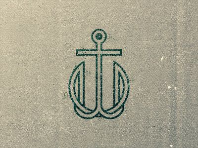 TW Anchor Monogram