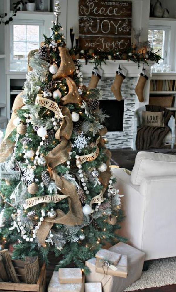Christmas tree for the happy holiday