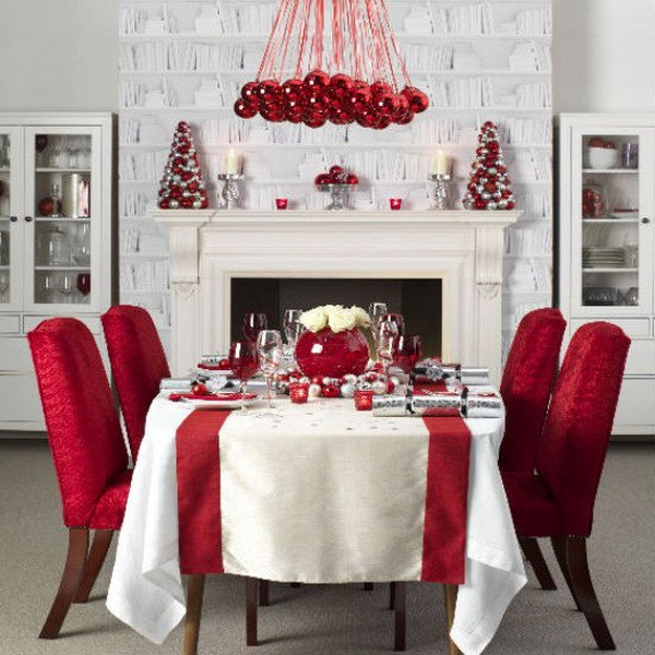 Modern Christmas Living Room Decor