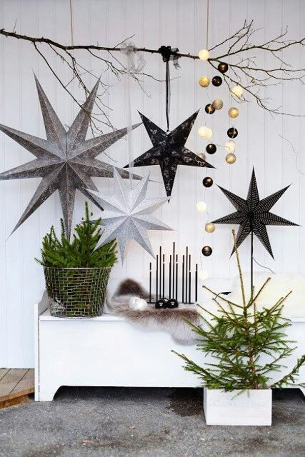 Star christmas decor