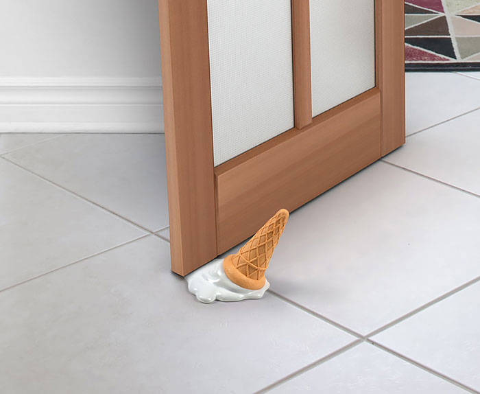 Ice Cream Doorstop