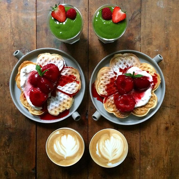 Symmetrical Breakfasts