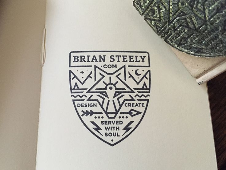 Badge by Brian Steely