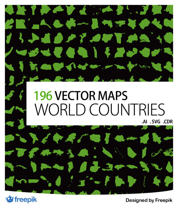 Vector Maps World Countries