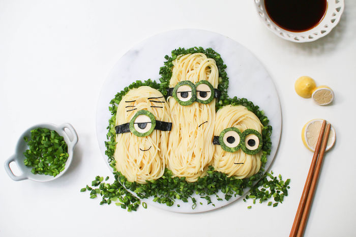 Minion Cold Noodles