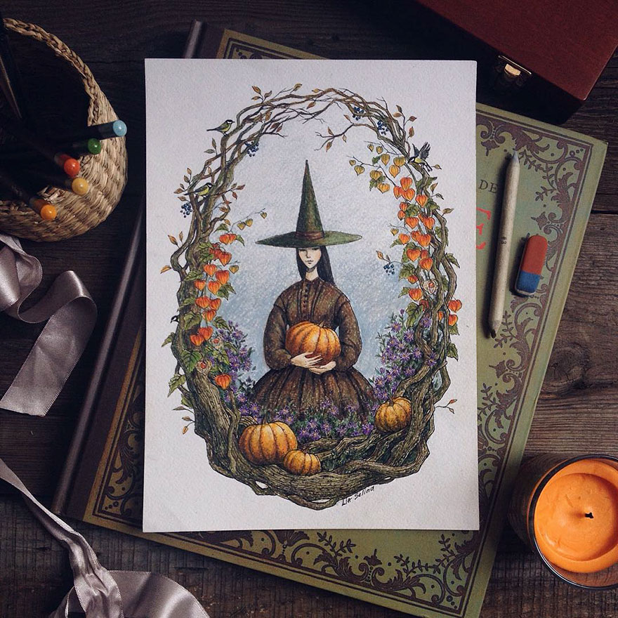 fairytale-illustrations-color-pencil-lia-selina-35