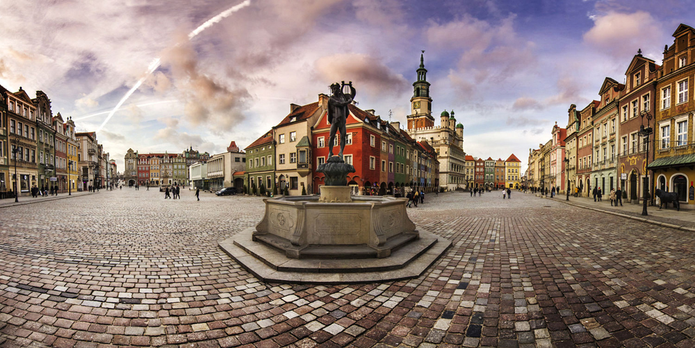 Old Town in Poznań