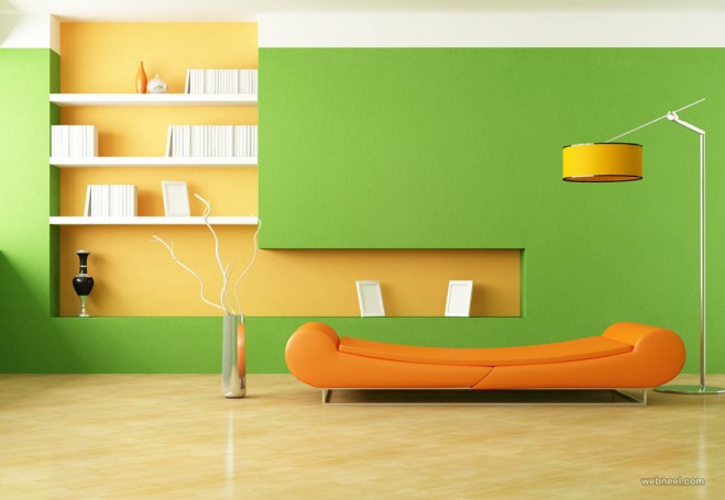 green living room color ideas