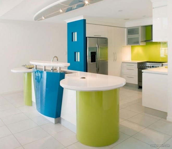 colorful kitchen wall paint ideas
