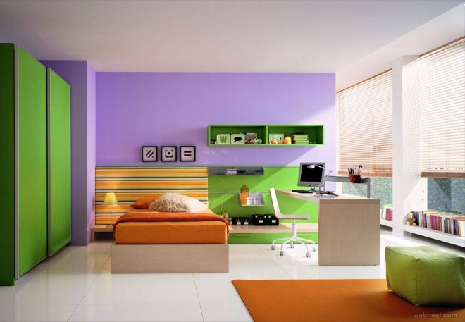 modern bedroom wall paint ideas