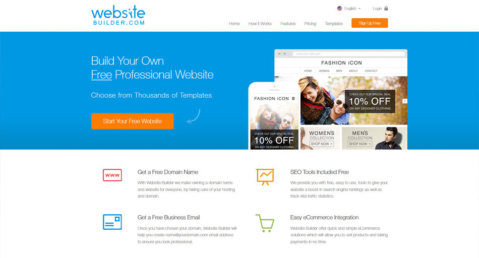 websitebuilder.com free web builder