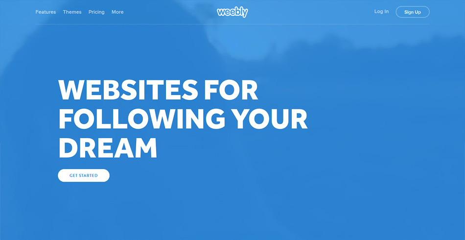 Weebly free web maker