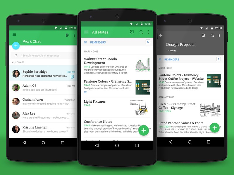 Evernote Material Design update (1)