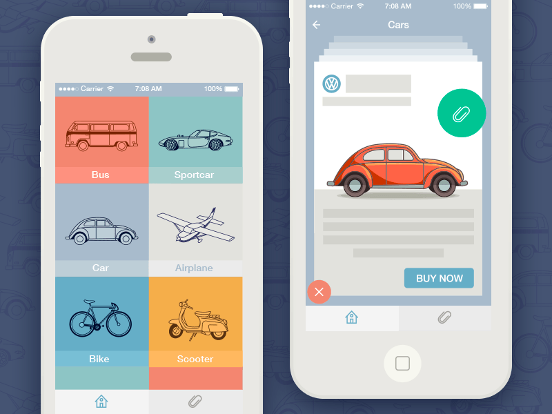 Transport app concept by Dasha (1)