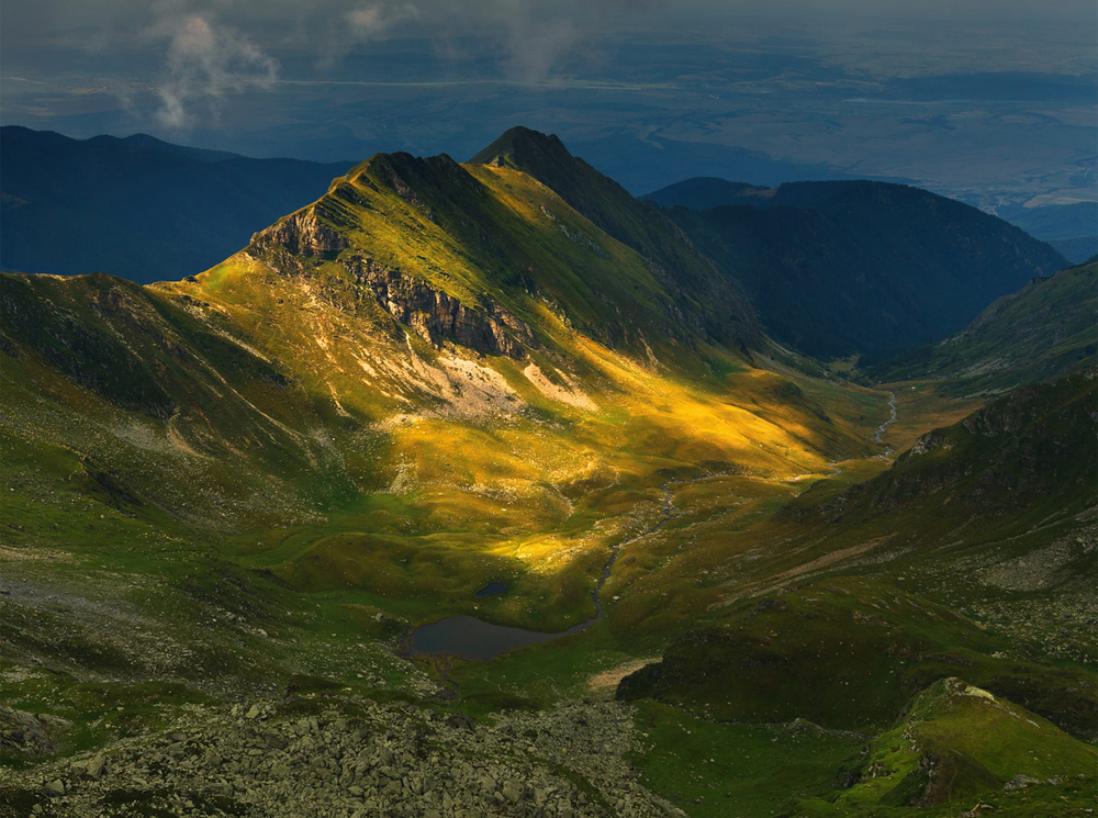 Fagaras Mountains. Romania