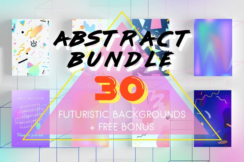 Abstract Bundle. 30 Prints + BONUS - Patterns Like Save Abstract Bundle. 30 Prints + BONUS - Patterns - 1 Abstract Bundle. 30 Prints + BONUS - Patterns - 2 Abstract Bundle. 30 Prints + BONUS - Patterns - 3 Abstract Bundle. 30 Prints + BONUS - Patterns - 4 Abstract Bundle. 30 Prints + BONUS - Patterns - 5 Abstract Bundle. 30 Prints + BONUS - Patterns - 6 Abstract Bundle. 30 Prints + BONUS - Patterns - 7 Abstract Bundle. 30 Prints + BONUS - Patterns - 8 Abstract Bundle. 30 Prints + BONUS - Patterns - 9 Abstract Bundle. 30 Prints + BONUS - Patterns - 10 Abstract Bundle. 30 Prints + BONUS - Patterns - 11 Abstract Bundle. 30 Prints + BONUS - Patterns - 12 Abstract Bundle. 30 Prints + BONUS - Patterns - 13 30 Surreal backgrounds, prints and patterns ( NOT mock ups ). Transport yourself back to the future - it's a mix of 80's, 90's and futuristic retro-style. Gradients, holographic lights and geometric shapes! Grab it right now: big set of high quality stuff + 6 cards templates for free.